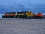 BNSF 2597, 2243 & 3704