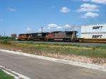 BNSF 941, NS 9488 & BNSF 5068