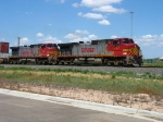 BNSF 727 & 654