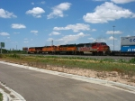 BNSF 156, 3151, 4083 & 7743