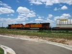 BNSF 4545 & 4410 serving as rear DPU's