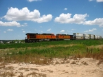 BNSF 4410 & 4545 pushing from the rear