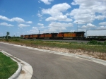 BNSF 4618, 4004 & 4827 following the 5264 westward