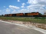 BNSF 801, 5193, 5367 & 4417