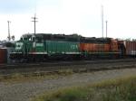 BNSF 1516 & 2460
