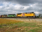 UP 8562 leading BNSF 8083 & 6873