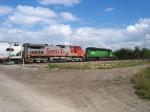 BNSF 599 & 7919