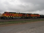 BNSF 5344 & 5485