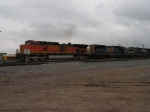 BNSF 4111, CSX 716 & NS 9627