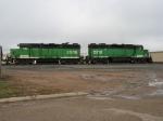 BNSF 2906 & 2918