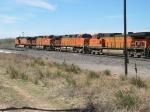 BNSF 5268, 5523, 5200 & 4548