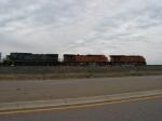 CSX 7339 behind BNSF 5400 & 7792