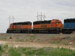 BNSF 3205 & 7143