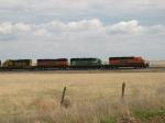 BNSF 8112, 3110, 347 & 6898