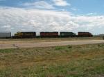 BNSF 6898, 347, 3110 & 8112