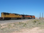UP 4269 behind BNSF 1057 & 7629