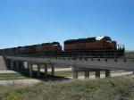 BNSF 7155, 4168 & 8611