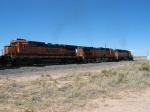 BNSF 8611, 4168 & 7155