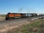 BNSF 5065, EMDX 9018 & NS 2699