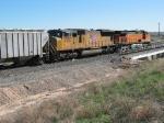 UP 4738 & BNSF 4546