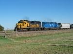 BNSF 8714 & CEFX 3187