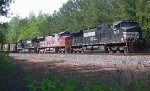 NS freight waiting for AOE