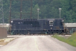 NS 104 rare TC-10 in CSX yard