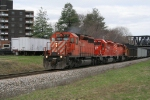 38T with 3 CP SD40-2s