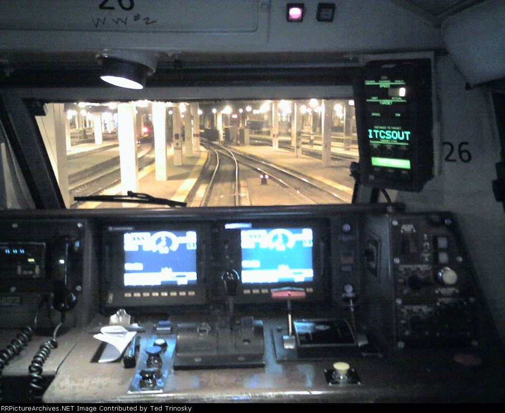 P42 ITCS Cab Engineers View