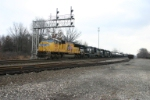 UP 5081 leads what used to be Conrail ELCJ
