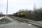 CSX 694 leads Q110 on track 1