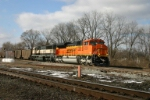 BNSF 9359 heads for Detroit with coal