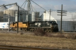 NS 9835 departs for Bellevue