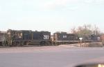 Gulf & Ohio yard ex ACL, ready track