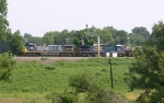 CSX Detour train