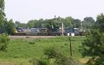 CSX Detour train