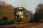 NS 119 chases the setting sun