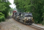 NS 204 in the single track