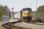 Southbound Hoppers enter the CN&L