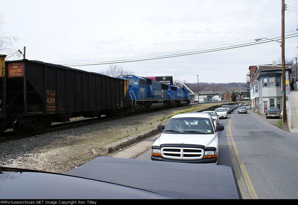 Coal Train Making Traffic
