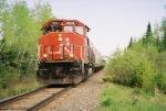 CN 9541 bringing No. 2 to its stop