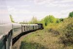 CN 9541 pulling No. 2 southward
