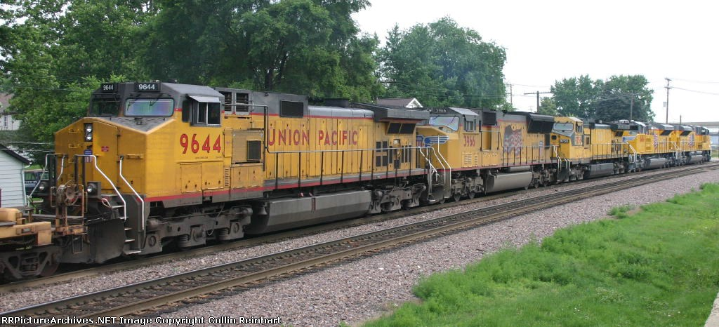 UP 9644, UP 3966, UP 9756, UP 8486, & UP 8485