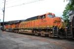 BNSF 7630 BNSF 6611