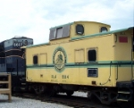 Baltimore & Annapolis caboose in the B&O museum