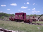 This caboose is awaiting restoration