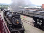 CN 3254 in the Steamtown park