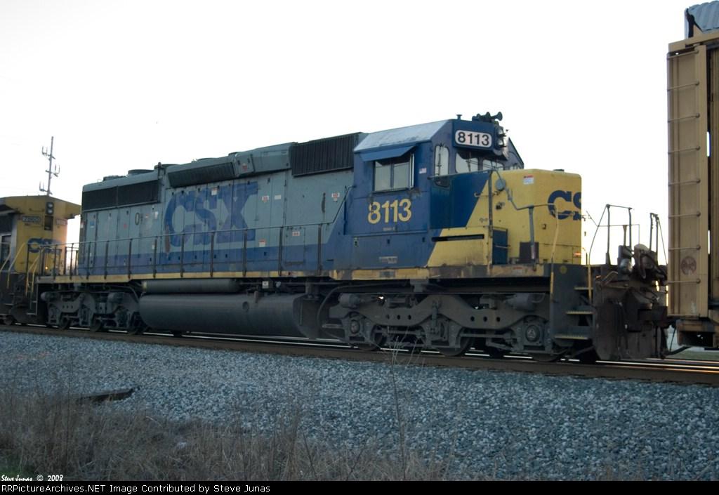 CSX 8113 Q215