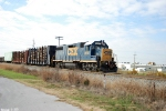 CSX 2814 J768 heads to Magna to pick up it's train
