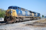 CSX 5332,322 get ready to make power a grain train